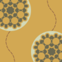 Free abstract flower balloon patterns