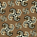 Free ancient swash sticker motif patterns