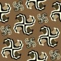 Free ancient swash sticker motif patterns