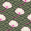 Free blossom oriental texture patterns