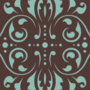 Free curly vector damask patterns