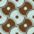 Free dharma wheel interlock patterns