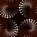 Free dot spiral patterns