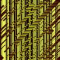 Free drip hazard lines in space patterns