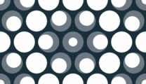 Free eyeball dot hex patterns