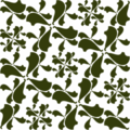 Free frilly damask tile patterns