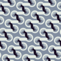 Free geometric node linear patterns