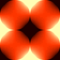 Free gradient grid globe patterns