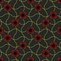Free intertwined dot flowers patterns
