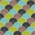 Free japanese fan wheel wave patterns