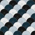Free japanese fan wheel wave patterns