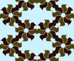 Free japanese leaf wheel patterns