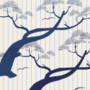 Free japanese pine tree stripe patterns