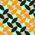 Free leaf grid patterns