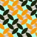 Free leaf grid patterns
