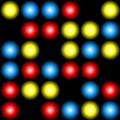 Free neon rings patterns
