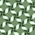 Free organic vector leaf patterns