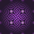 Free oriental interlinking squares patterns