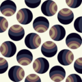 Free polka dot retro spin patterns