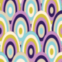 Free rainbow ellipse waves patterns