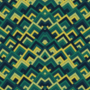 Free rainbow symmetric peeks patterns