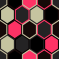 Free random hexagon quilt patterns