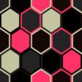 Free random hexagon quilt patterns