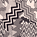Free random zig zag patterns