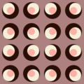 Free retro disc tile patterns