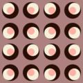 Free retro disc tile patterns