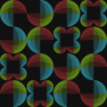 Free retro fade dots patterns