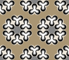 Free retro flower patterns