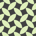 Free simple woven leaves patterns