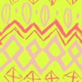 Free sketchy primitive patterns