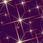Free sparkly star patterns
