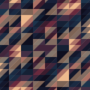 Free transparent triangle overlay patterns