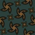 Free vector arrow motif patterns