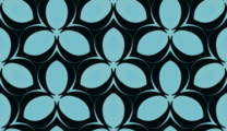 Free vector curl patterns