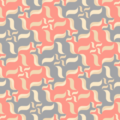 Free vector curl swirl tile patterns
