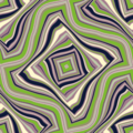 Free wavy contour grid patterns