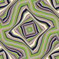 Free wavy contour grid patterns
