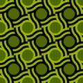Free wicker wave dot patterns