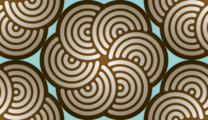 Free wool ball swirl patterns