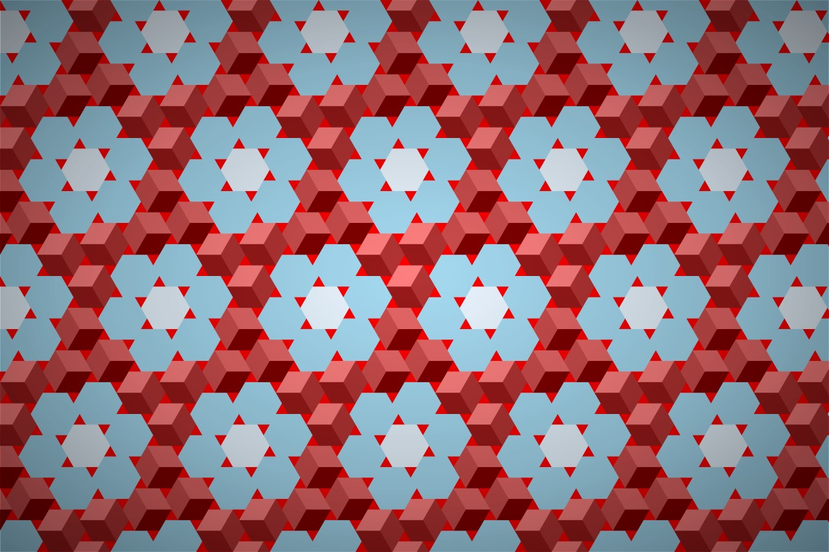 Free 3d Cube Flower Wallpaper Patterns