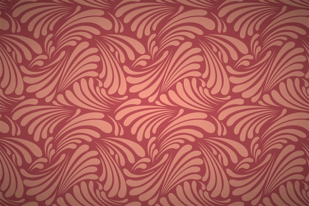Free art nouveau leaf curls wallpaper patterns for Art deco patterns