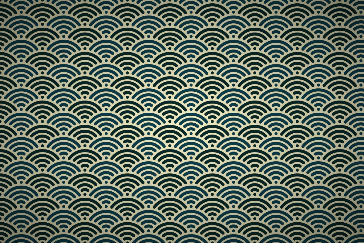 Free classic japanese wave wallpaper patterns