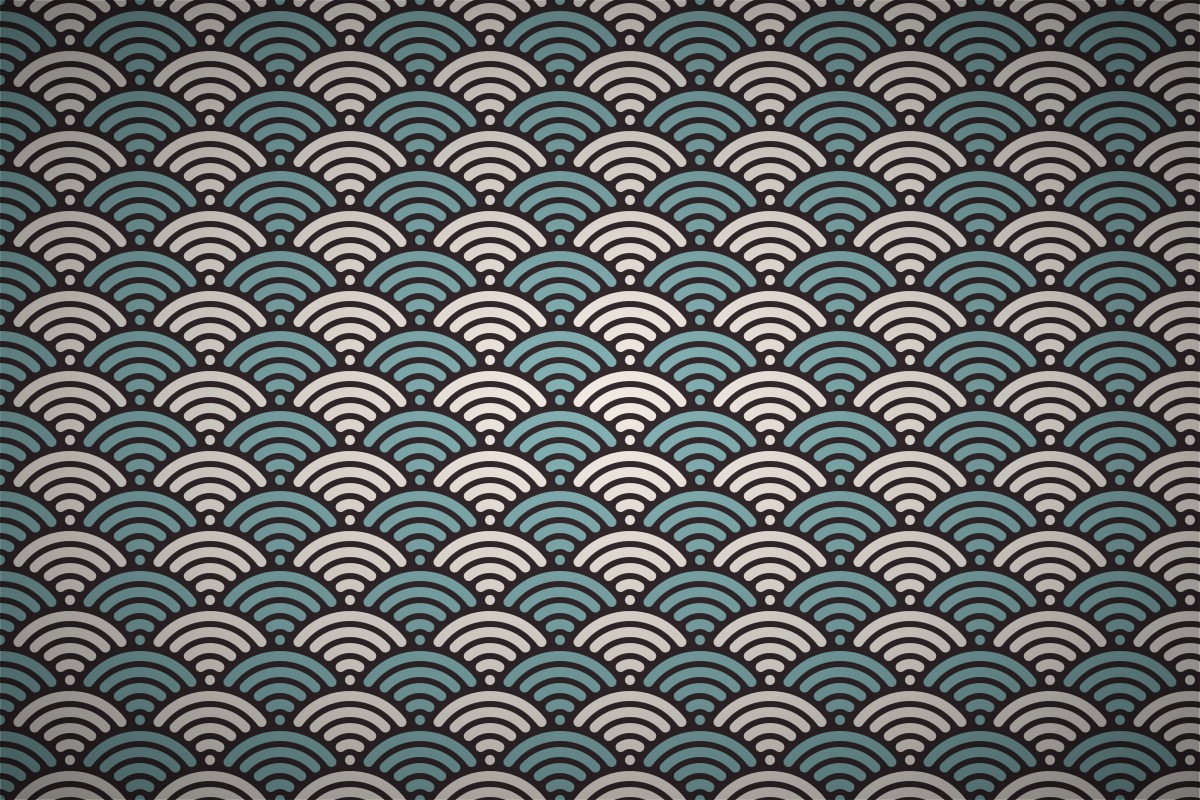 Free classic japanese wave Seamless Wallpaper Patterns