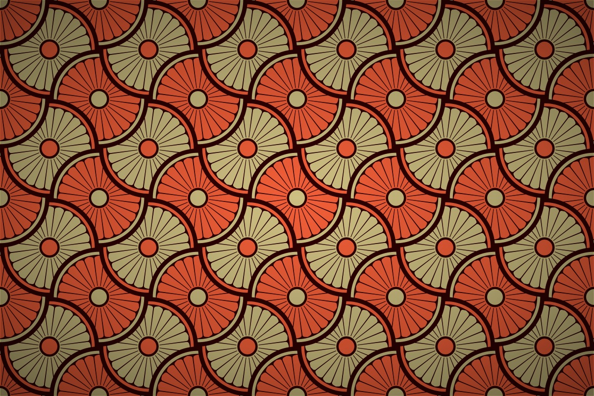 Free Dharma Wheel Interlock Wallpaper Patterns