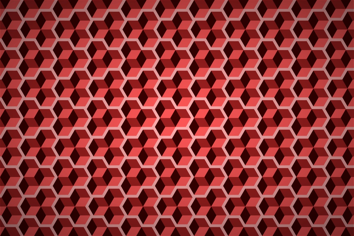Free geometric cubes wallpaper patterns