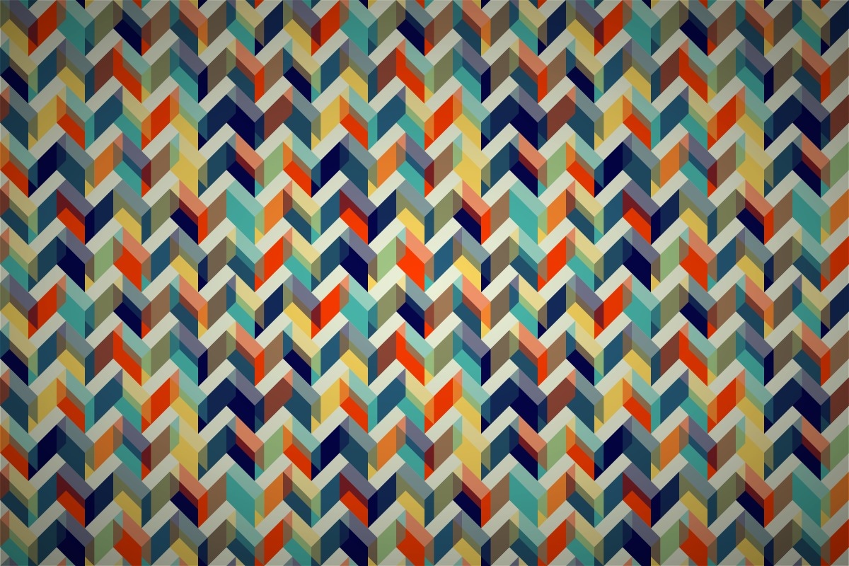 Color Pattern Wallpaper Free Gilmorish Zigzag Cloud Wallpaper Patterns